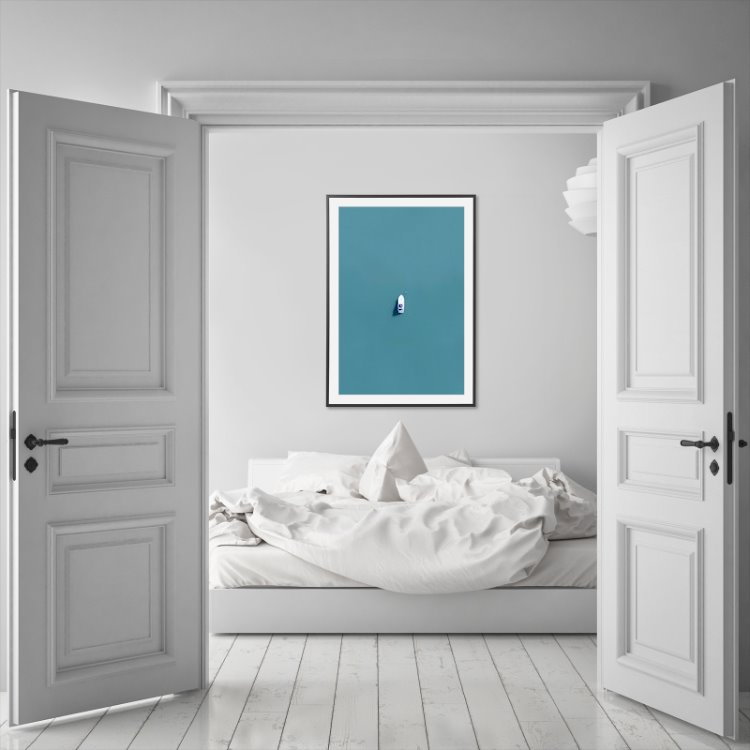 Wall art print - 70x100 cm (5 cm white margin)