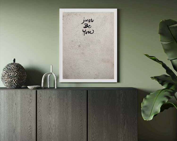 Wall art print - 50x70 cm (4 cm white margin)